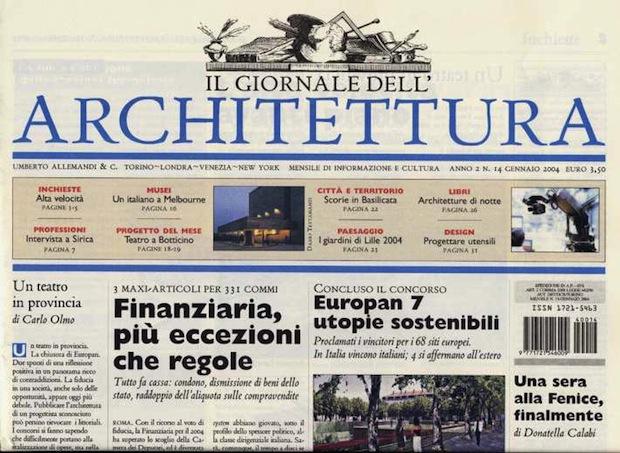 Chiudono le riviste di architettura for Riviste di architettura on line