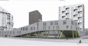 Un nuovo complesso residenziale a Milano